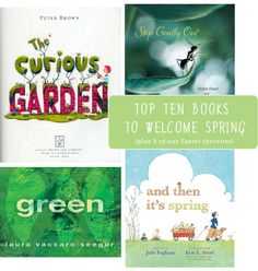Resident MPMK children's librarian Janssen is back today with her top 10 picks for Spring and, bonus, a few Easter favorites too. I'lldefinitelybe picking up a one or two of these to add to S and C's Easter basket this weekend. QUESTION OF THE DAY Do you have a seasonal home library for the kids? …