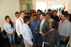 Atender a la sociedad mi compromiso permanente: Diputado Local Samuel Gurrión Matías