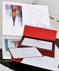 Design inspiration of The Tyra Invitation Clutch ©2012 #Invitations