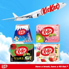 I dont eat sweets, but Japanese Kit Kats are delish - and come in pretty packages