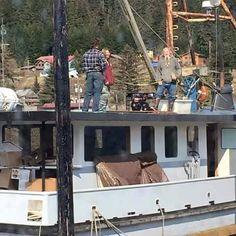 on their new Boat  - Alaskan Bush people