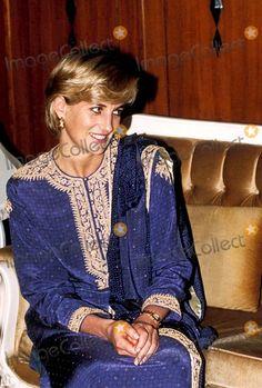 C/n 026753 5-22/23-1997 Lahore, Pakistan Princess Diana Photo By:alpha-Globe Photos, Inc 1997