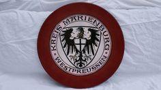 Platte Keramik Cadinen - Kreis Marienburg Westpreussen