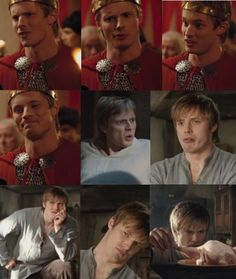 All the best faces from Bradley James. . . .
