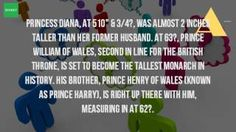 How Tall Is Prince William And Harry?