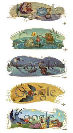 Series - Hans Christian Andersen commemoration logos on Google | Flickr - Photo Sharing!