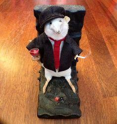 You Dirty Rat Anthropomorphic Rat Taxidermy.