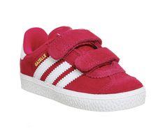 Gazelle 2 Infant - Bold Pink White. Adidas ...
