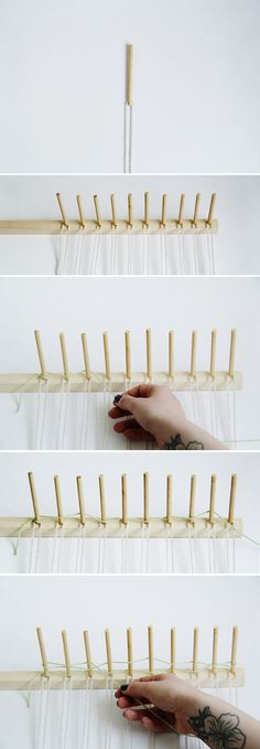 Fall For DIY Woven Wall Hanging Tutorial 1