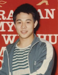 Jet Li in his youth