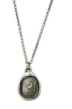 Moon Wax Seal Necklace