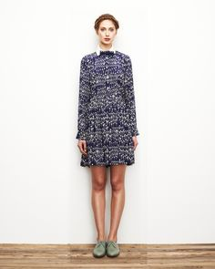 Mushroom Button Up Blouse – Lauren Moffatt