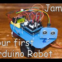James - Your first Arduino Robot ---- HEY HEY!!!  For more COOL ARDUINO stuff, check out http://arduinohq.com