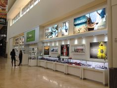 TIME SQ. at Dadeland Mall, Miami, Fl  Manufacture & Design of Store Fixtures by Artco Group.