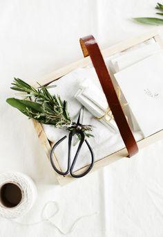 DIY - Herb garden starter kit by themerrythought.com