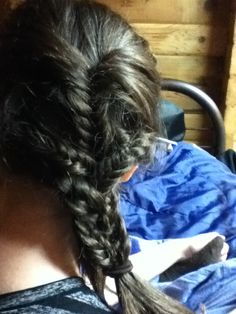 Just a random braid thing I did on my friends hair