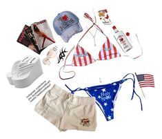 miss america Outfit | ShopLook Beach Day Outfits, Blue Outfits, Marlboro Red, America Outfit, Miss America, Outfit Maker, Fourth Of July, Celebrities, Sexy