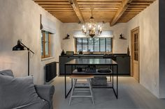 Miramari added a new photo. Country Style, Interior Architecture, Tiny House, Studios, Kitchen, Table, Furniture, Design, Home Decor