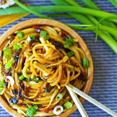 Sticky Garlic Quinoa Noodles2