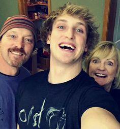 Logan & his parents