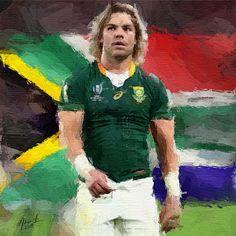 Faf De Klerk - South Africa by realdealluk on DeviantArt South Africa Rugby, Wall Papers, Muscle Men, Sexy Men, Nfl, African, Posters, Deviantart, Sport