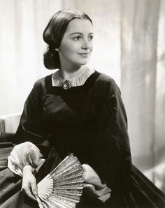 Olivia de Havilland in Gone With the Wind 1939
