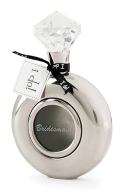 Diamond ring Bridesmaid flask. Not that any of your wedding party would be using something like this!    :)