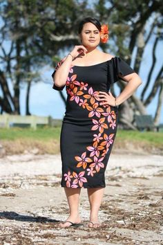 Lalelei Island Outfit, Island Wear, Samoan Women, Island Wedding Dresses, African Fashion Dresses, Fashion Outfits, Samoan Designs, Samoan Dress, Island Style Clothing