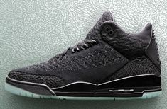 The Air Jordan 3 Flyknit Black (Style Code  releases with Black Flyknit  upper e29988c1a