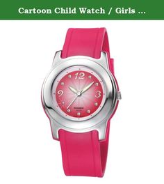 Cartoon Child Watch / Girls Boys Student Watch / sports watch / electronic watch waterproof-red. Watches Mirror Material: plexiglass mirror Movement Type: Quartz Watch Watch Type: Neutral Style: fashion Strap Material: Rubber Shape: Round Display Information: Analog waterproof depth: 30 meters life waterproof additional functions: chronograph display week month display table debit formula: buckle bottom of the table type: crown type: dial thickness: 11mm dial diameter: 34mm popular…
