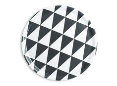 "Laminate tray ""Plattan"". Swedish design by Barbro Tryberg Boberg, inspired by Plattan/Sergels Torg in Stockholm.  Bought it yesterday - love it!"
