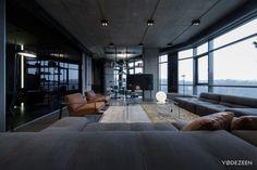 Open-minded Apartment in Kiev by YoDezeen Jetzt bestellen unter: http://www.woonio.de/ideen-zum-haus-einrichten-und-gestalten/ideen-zu-modernen-haeusern/open-minded-apartment-in-kiev-by-yodezeen/