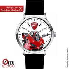 Mostrar detalhes para Relógio de pulso OTR DUCATI MOTO N007