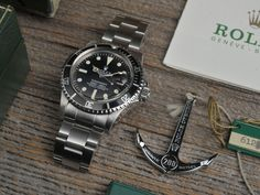 Rolex 1680 Submariner Box+Papers (Sold) - Bulang & Sons