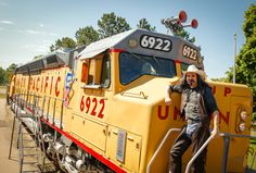 Buffalo Bill didn't get to experience the power of a diesel locomotive during his life, but the New Buffalo Bill got to explore the 6922 at North Platte's Cody Park Railroad Museum