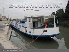 Luxemotor Dutch  Barge live aboard barge