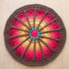 Ravelry: Spoke Mandala pattern by Marinke Slump