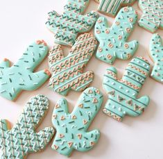 cutest cactus cookies in the world.
