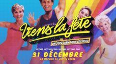 Viens la fête, On sera bien tous les deux !  Et là vous allez me dire c'est bien joli votre affiche avec tatie et tata en slip lycra mais quid ?  Eh bien chers amateurs de Saint Sylveste à paillettes, Viens La Fête c'est célébrer 2016 dans l'amour et la communion, Viens La Fête c'est finir 2015 avec la banane pour commencer 2016 avec la patate (#glutenfree).   Viens La fête c'est 2Pac et Elvis qui font une ronde, c'est les Daft Punk et les Beatles qui jouent à Cola Maya, c'est Sean Paul qui…