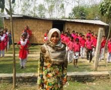 Meet Saleha from Bangaldesh. A former abuse victim with minimal education, she now fights violence against women, promotes education and improves sanitation in her community.