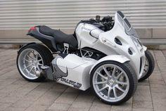 trike motorcycles   BMW Powered, 175hp Trike: GG Taurus   BMW Motorcycle Magazine