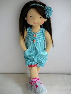 Doll clothing sewing PATTERN  DIY doll clothes  Waldorf doll