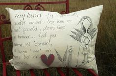 Relationship Gifts, Scatter Cushions, Afrikaans, Paper Art, Bible Verses, Bed Pillows, Projects To Try, Arts And Crafts, Doodles