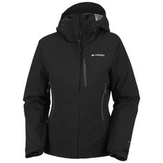 Women's Black Columbia 3-in-1 Ultrachange Omni Dry Waterproof Jacket  - Outfitters, Grouse Mountain, Vancouver