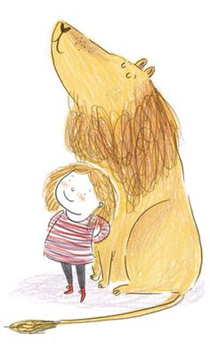 Emma Carlisle Illustration Like this scribbly style; simple yet effective. Very bold and dynamic. Art And Illustration, Character Illustration, Graphic Design Illustration, Book Illustrations, Art Picasso, Childrens Books, Illustrators, Character Design, Sketches