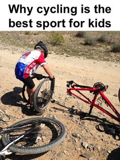 """""""Why cycling is the best sport for kids"""" via Velomom.com"""