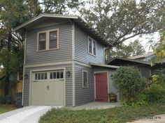 Two-Story One-Car Garage Apartment/ Carriage House | Historic Shed