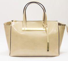 Eksklusiv italiensk veske i blankt skinn Ted Baker, Tote Bag, Bags, Handbags, Totes, Bag, Tote Bags, Hand Bags