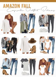 Click here now to see this Amazon fall capsule wardrobe on Pinteresting Plans! Best fall capsule wardrobe 2020 casual. Cute business casual capsule wardrobe fall 2020. Stylish fall capsule wardrobe mom and fall outfits women 30s casual curvy. Fun fall outfits for work offices workwear. Cute athleisure outfits fall leggings and athleisure outfits fall minimal chic. Best Amazon athleisure outfits fall joggers. Awesome amazon must haves women clothes. #fall #wardrobe #ootd Fall Outfits For Work, Casual Fall Outfits, Stylish Outfits, Capsule Wardrobe Mom, Fall Wardrobe, Cute Business Casual, Fall Leggings, Athleisure Outfits, Fashion Capsule