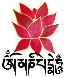 om mani padme hum tattoos | Cada sílaba do mantra filtra um aspecto negativo das emoções ...